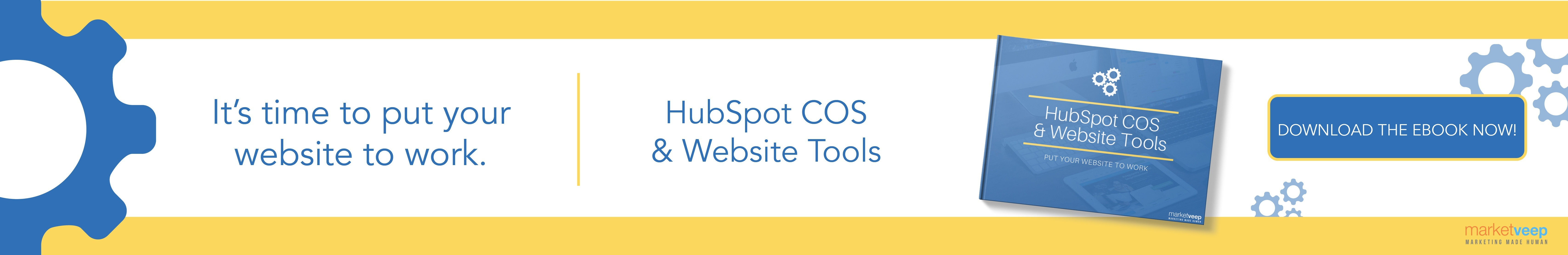 HubSpot COS and Website Tools