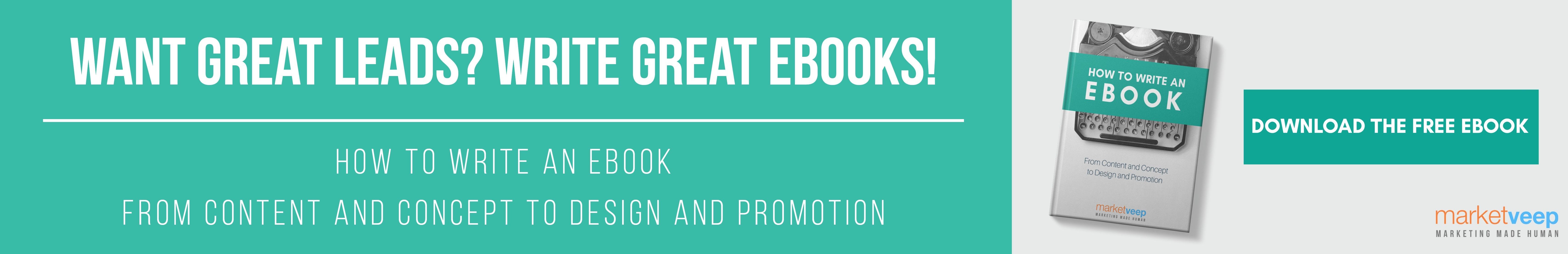 How to Write an eBook web CTA