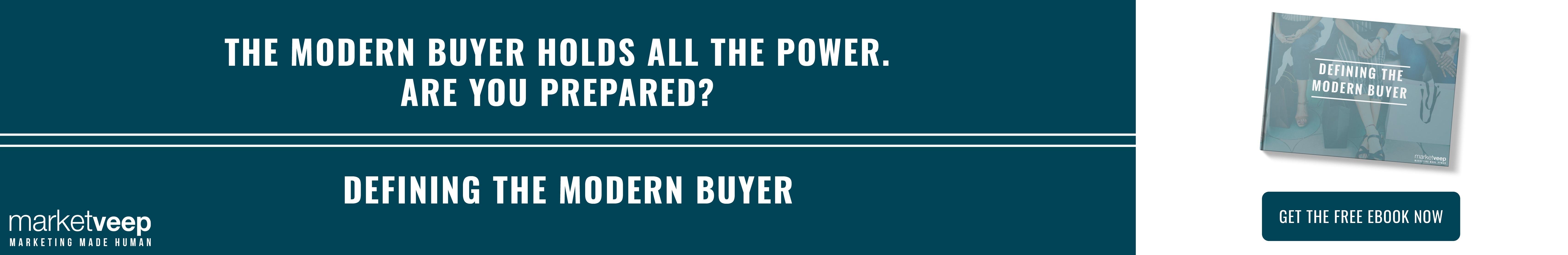 Defining the Modern Buyer