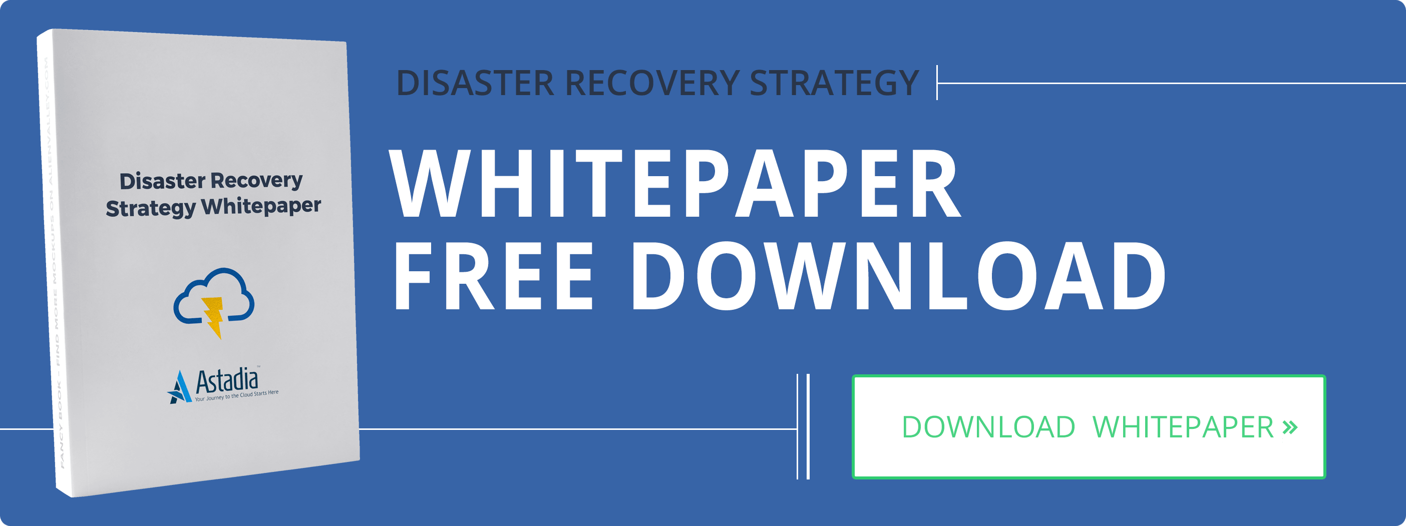Disaster Recovery Strategy Whitepaper