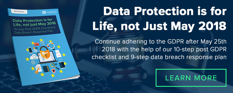 Data Protection for Life GDPR Data Processing