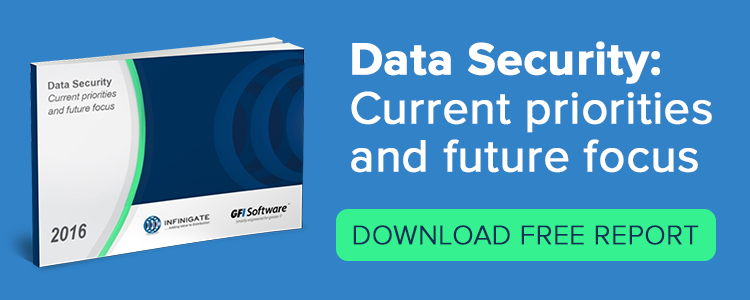 data security report GFI software infinigate
