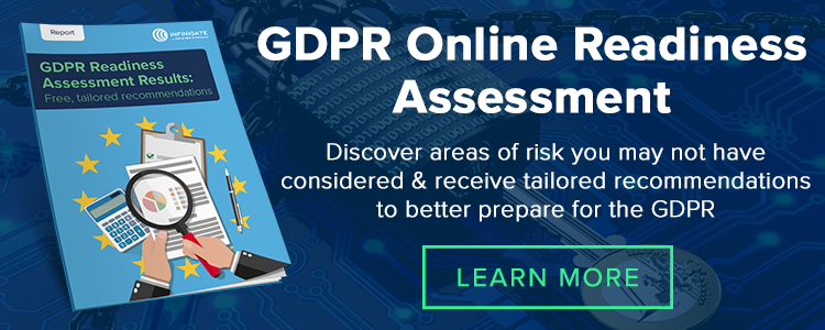 Click to get a free, online GDPR readiness assessment for your organisation >>