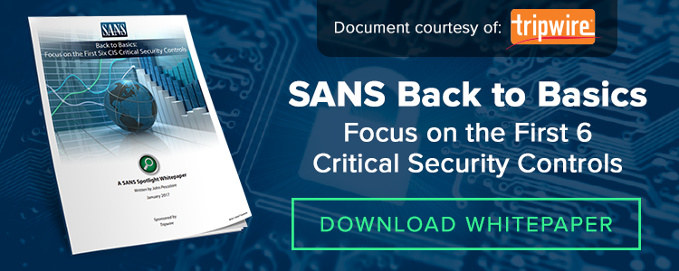 Tripwire SANS Back to Security Basics Whitepaper