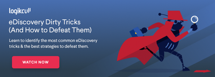 Watch an on-demand webinar on eDiscovery dirty tricks (and how to defeat them)