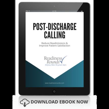 post-discharge calling ebook link | patient satisfaction