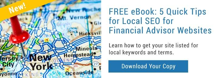 Local SEO for Financial Advisor Websites