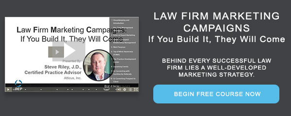 Recorded Course: Law Firm Marketing Campaigns: If You Build It, They Will Come