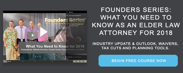 Recorded Course: Founders Series: What You Need to Know for 2018