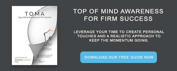 Whitepaper: Top of Mind Awareness for Firm Success