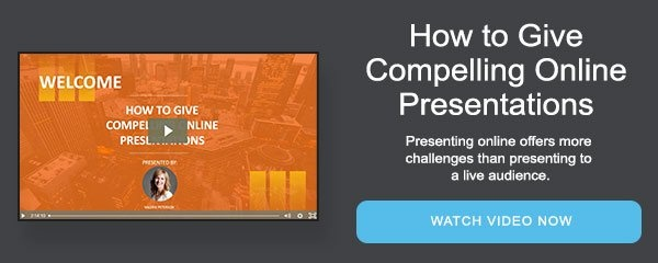 How to Give Compelling Online Presentations