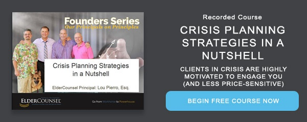 Recorded Course: Crisis Planning Strategies in a Nutshell
