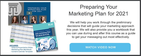 Preparing Your Marketing Plan for 2021