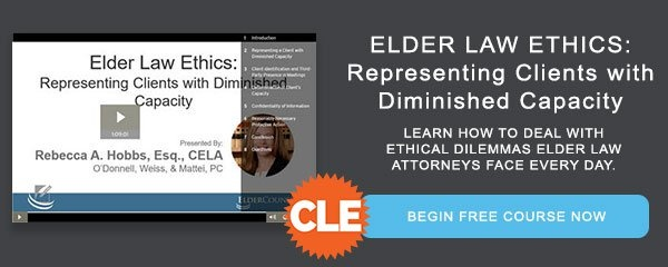 Adding Elder Law to Your Estate Planning Practice