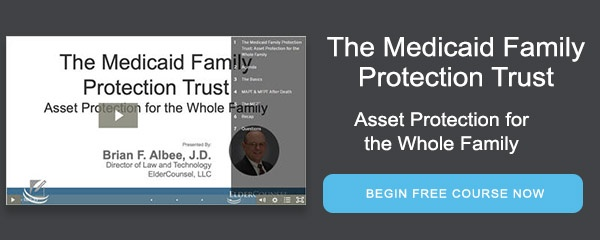 The Medicaid Family Protection Trust