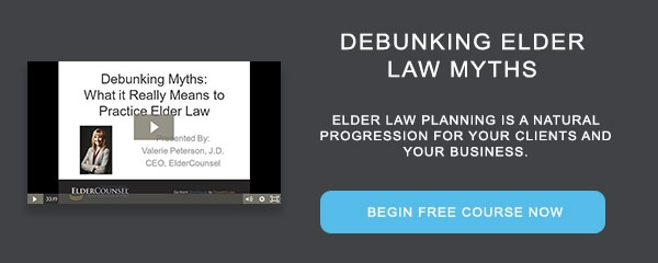 Recorded Course: Debunking Elder Law Myths