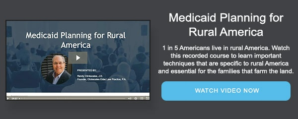 Medicaid Planning for Rural America
