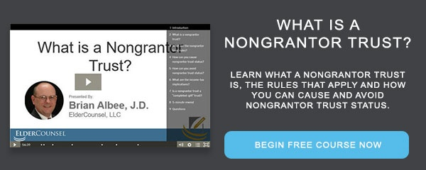 Recorded Course: What is a Nongrantor Trust?