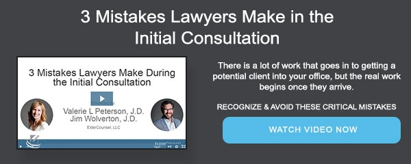 3 Mistakes Lawyers Make in the Initial Consultation