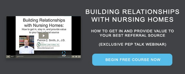 Recorded Course Building Relationships with Nursing Homes