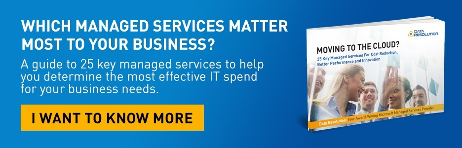 25 Key Managed Services For Cost Reduction, Better Performance and Innovation