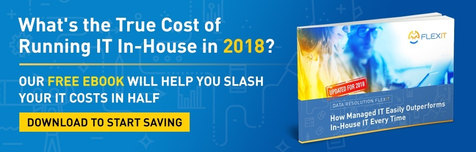 Calculate the true cost of running IT in-house in 2018. Download the eBook.
