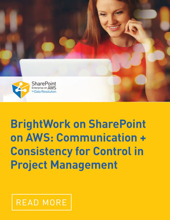 BrightWork on SharePoint on AWS