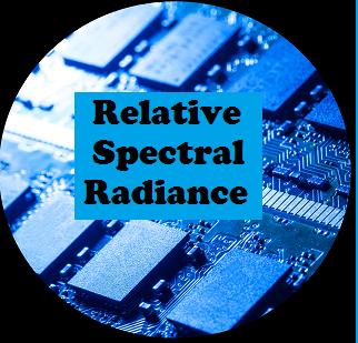 Relative Spectral Radiance
