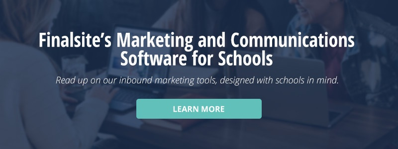 click here to learn more about Finalsite's marketing and communications software for schools