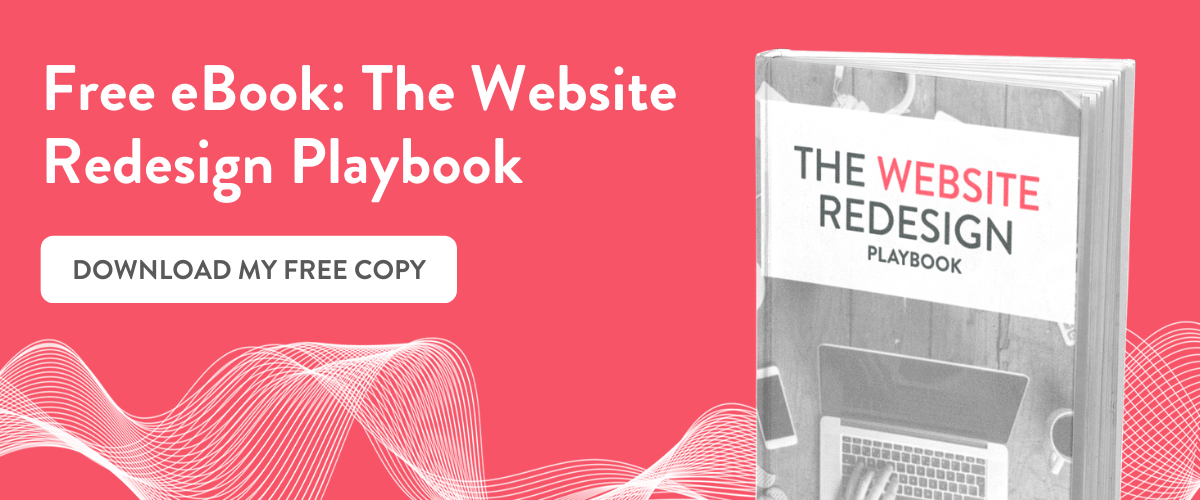 click here to download a free copy of the website redesign playbook