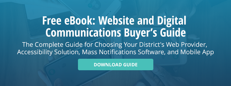 Website and Digital Communications Buyer's Guide for Superintendents