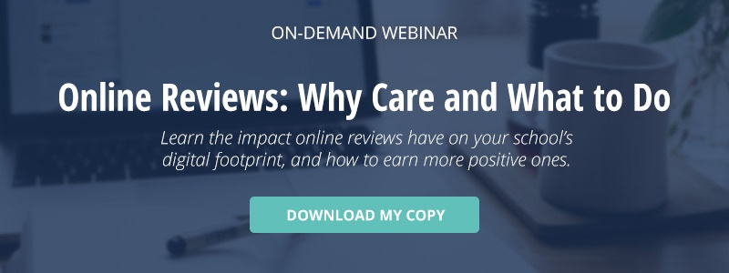 "click here to download a copy of the on-demand webinar titled ""Online Reviews: Why Care and What to Do"""