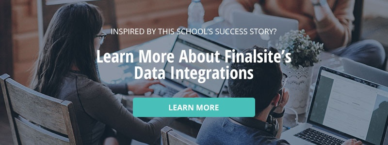 Learn more about Finalsite's Data Integrations