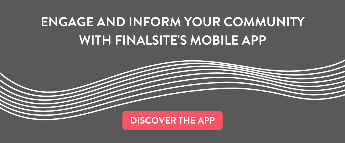 Request a demo for the Finalsite Mobile App