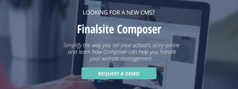 click here to learn more about Finalsite composer