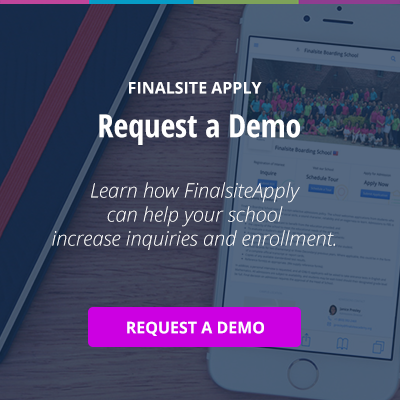 Request a Demo: FinalsiteApply