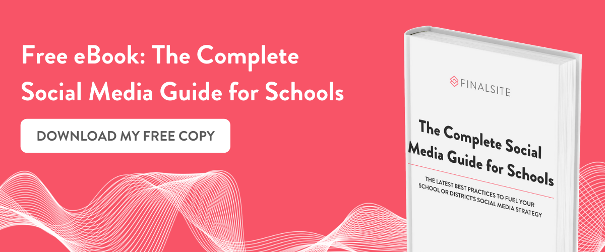 download your free copy: 2020 social media guide for schools