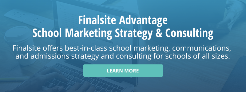 Learn more about Finalsite Advantage, Finalsite's best-in-class school marketing and consulting service