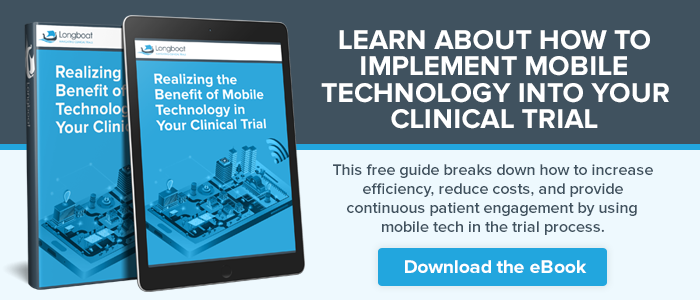Mobile technology and clinical trials