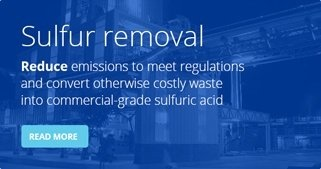Haldor Topsoe sulfur removal process offering