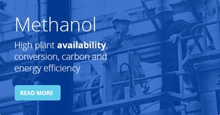 Methanol process - High plant availability, conversion, carbon and energy efficiency
