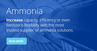 Ammonia process - Increase capacity, efficiency or even feedstock flexibility with the most trusted supplier of ammonia solutions