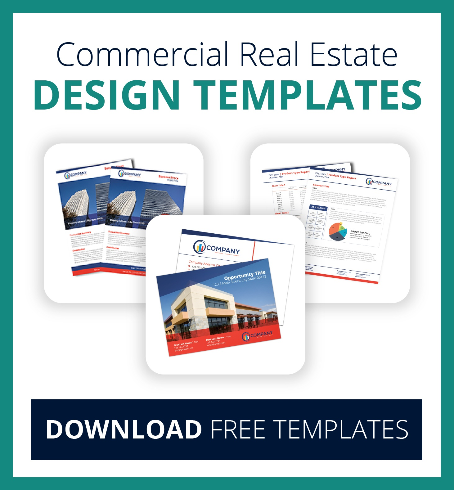Commercial Real Estate Design Templates