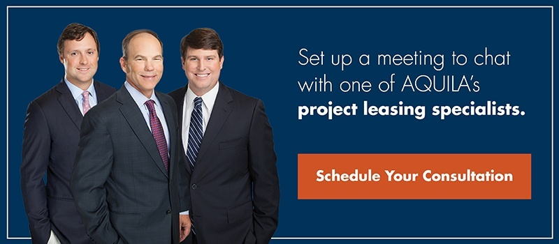 Request a Consultation - AQUILA Project Leasing