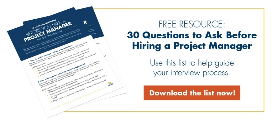 Free Resource: 30 Questions to Ask Before Hiring a Project Manager