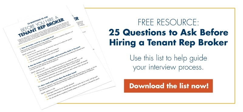 Download the Free Resource: 25 Questions to Ask Before Hiring a Tenant Rep Broker