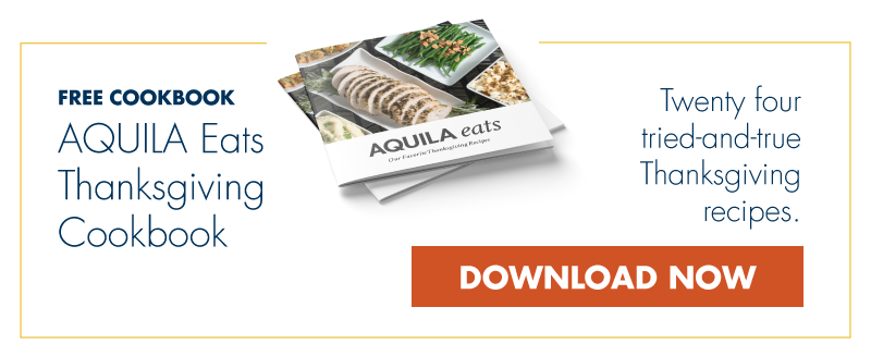 Download the AQUILA Eats Thanksgiving Cookbook