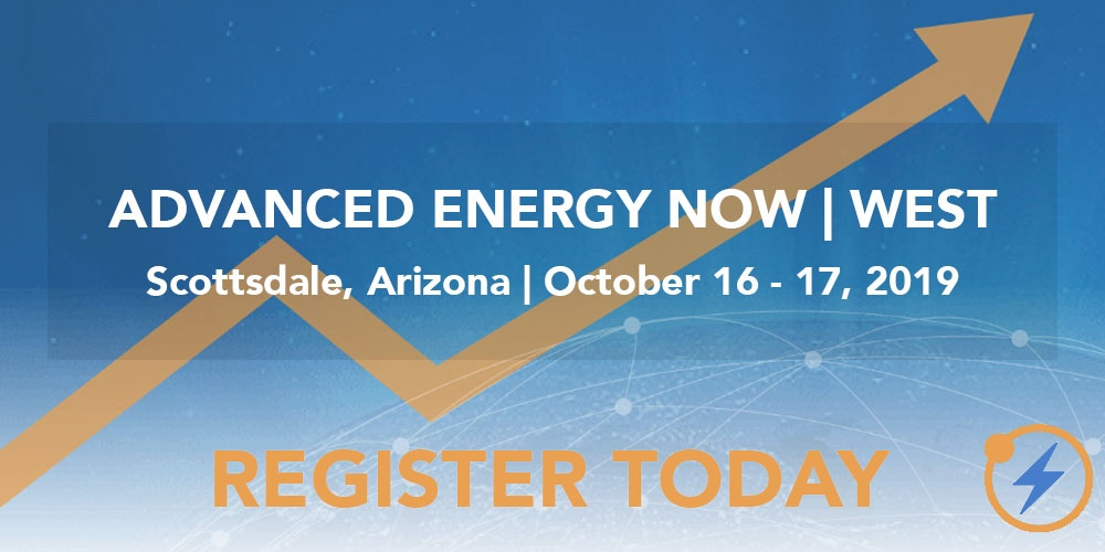 Advanced Energy Now | West - register today image