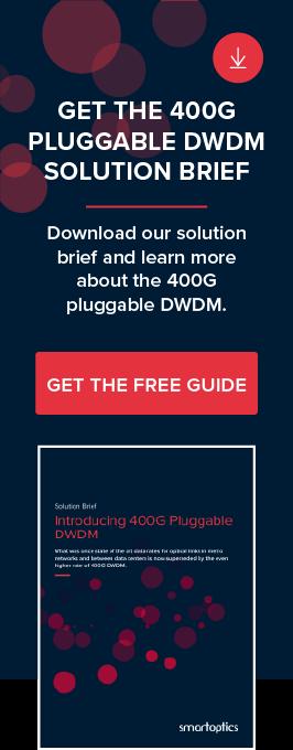 Introducing 400G Pluggable DWDM