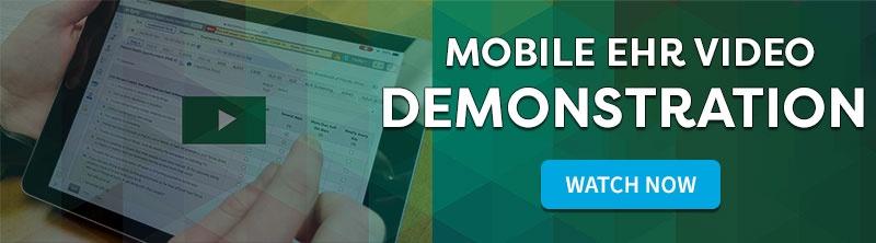 mobile ehr software video demonstration